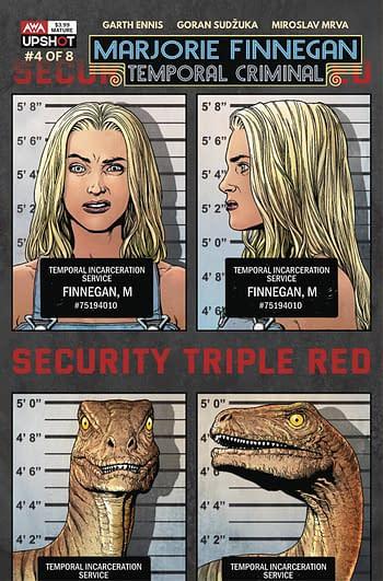 Cover image for MARJORIE FINNEGAN TEMPORAL CRIMINAL #4 (MR)