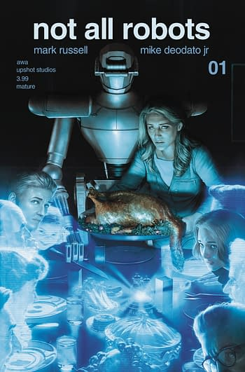 Cover image for NOT ALL ROBOTS #1 CVR A RAHZZAH (MR)