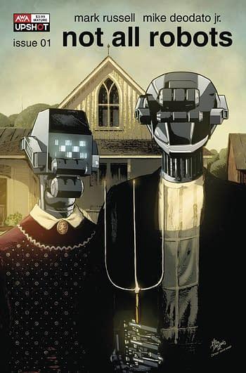 Cover image for NOT ALL ROBOTS #1 CVR B DEODATA JR (MR)