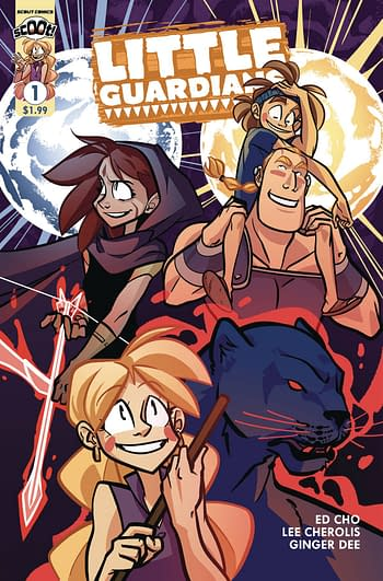 Cover image for LITTLE GUARDIANS #1