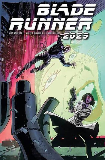 Cover image for BLADE RUNNER 2029 #8 CVR A MCCREA (MR)