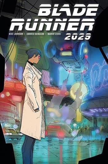 Cover image for BLADE RUNNER 2029 #8 CVR C MILONOGIANNIS (MR)