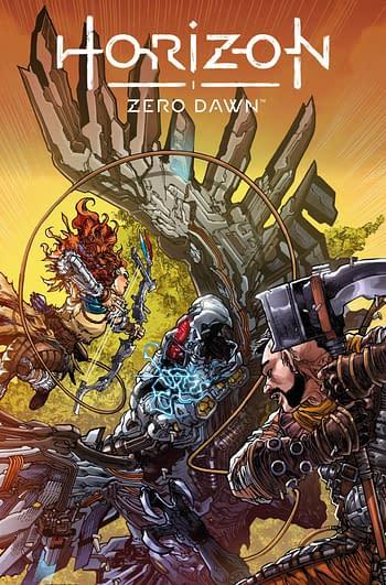 Cover image for HORIZON ZERO DAWN LIBERATION #3 CVR C TOLIBAO