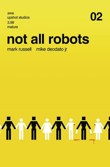 Cover image for NOT ALL ROBOTS #2 (MR)