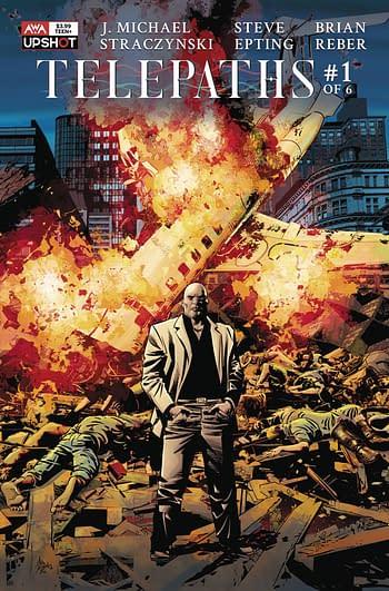 Cover image for TELEPATHS #1 (OF 6) CVR B DEODATO JR