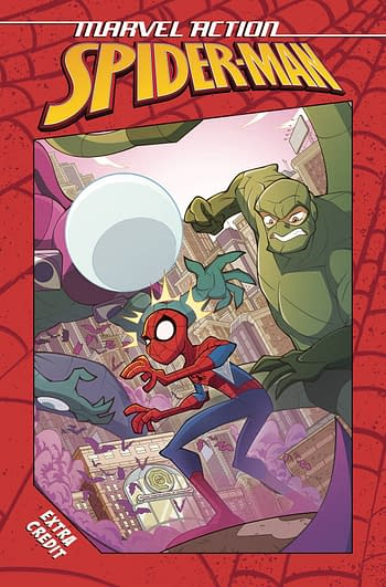 Cover image for MARVEL ACTION SPIDER-MAN EXTRA CREDIT TP VOL 01
