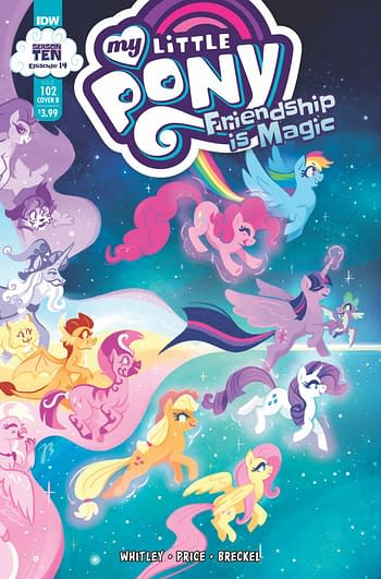 Cover image for MY LITTLE PONY FRIENDSHIP IS MAGIC #102 CVR A PRICE