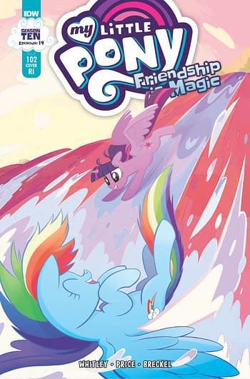 Cover image for MY LITTLE PONY FRIENDSHIP IS MAGIC #102 CVR C 10 COPY INCV M