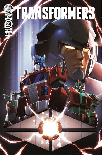 Cover image for TRANSFORMERS #35 CVR B LAFUENTE