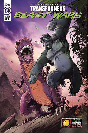 Cover image for TRANSFORMERS BEAST WARS #8 CVR A GRIFFITH