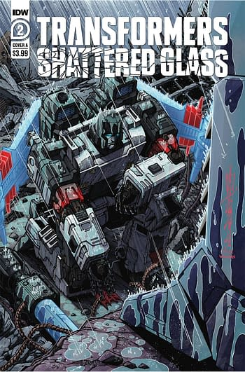 Cover image for TRANSFORMERS SHATTERED GLASS #2 (OF 5) CVR A MILNE