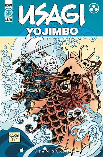 Cover image for USAGI YOJIMBO #22 CVR A SAKAI