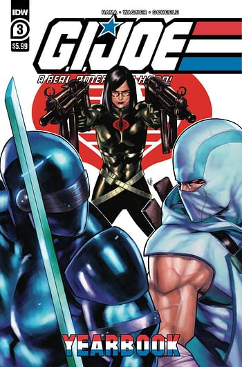 Cover image for GI JOE A REAL AMERICAN HERO YEARBOOK #3