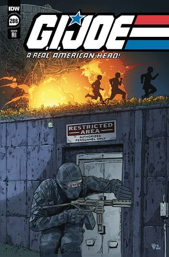 Cover image for GI JOE A REAL AMERICAN HERO #286 CVR C 10 COPY INCV ROYLE (N