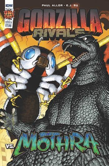 Cover image for GODZILLA RIVALS VS MOTHRA CVR A SU