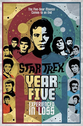 Cover image for STAR TREK YEAR FIVE TP VOL 04 EXPERIENCED IN LOSS