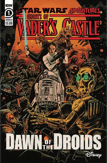 Cover image for STAR WARS ADV GHOST VADERS CASTLE #1 (OF 5) CVR A FRANCAVILL