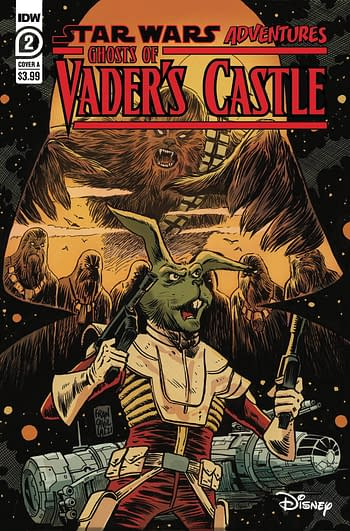 Cover image for STAR WARS ADV GHOST VADERS CASTLE #2 (OF 5) CVR A FRANCAVILL