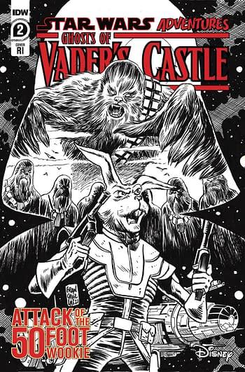 Cover image for STAR WARS ADV GHOST VADERS CASTLE #2 (OF 5) CVR C 10 COPY FR
