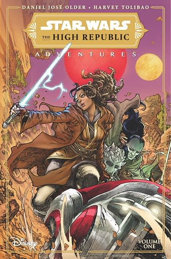Cover image for STAR WARS HIGH REPUBLIC ADVENTURES TP