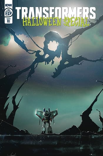 Cover image for TRANSFORMERS HALLOWEEN SPECIAL 10 COPY RAMONDELLI INCV