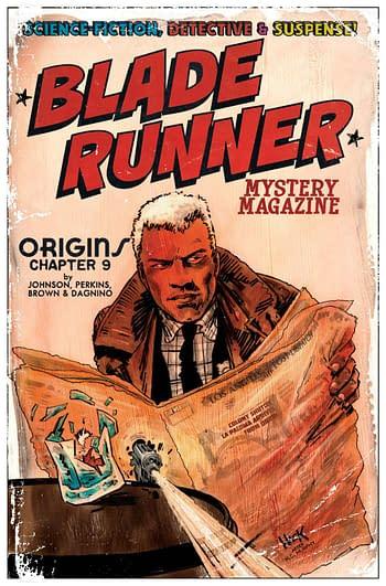 Cover image for BLADE RUNNER ORIGINS #7 CVR C HACK (MR)