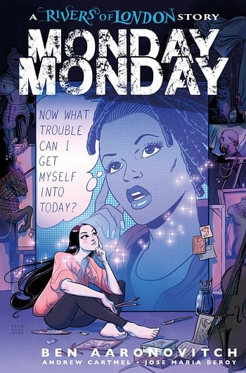 Cover image for MONDAY MONDAY RIVERS OF LONDON #4 CVR C BUISIAN (MR)