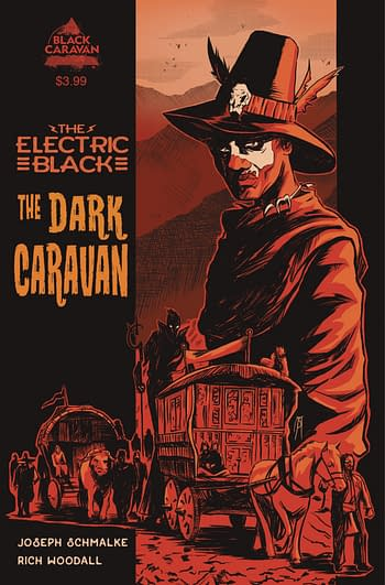 Cover image for ELECTRIC BLACK DARK CARAVAN #1