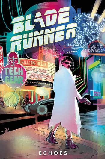 Cover image for BLADE RUNNER 2029 TP VOL 02 ECHOES