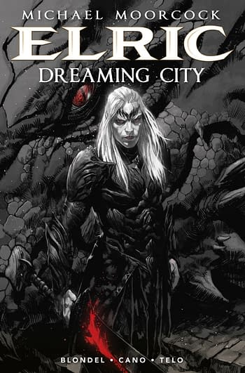 Cover image for MOORCOCK ELRIC HC VOL 04 (OF 4) DREAMING CITY (MR)