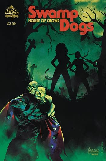 Cover image for SWAMP DOGS #1 CVR B 10 COPY MACELLO UNLOCK