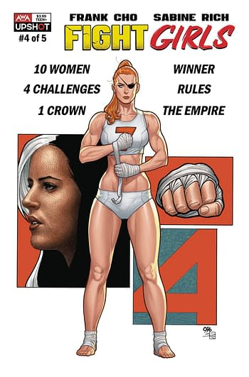Cover image for FIGHT GIRLS #4