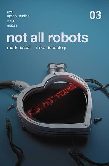 Cover image for NOT ALL ROBOTS #3 (MR)