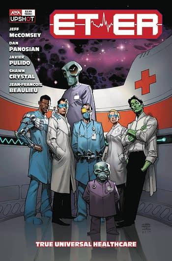Cover image for ET-ER ONESHOT #1 CVR A ROBINSON