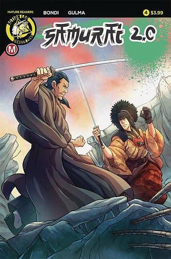 Cover image for SAMURAI 2.0 #4 LEGACY
