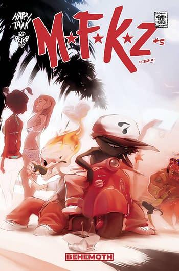 Cover image for MFKZ #5 CVR A RUN (MR)