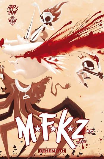 Cover image for MFKZ #5 CVR B TRAGNARK (MR)