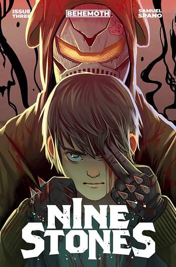 Cover image for NINE STONES #3 CVR B SPANO (MR)