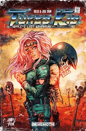 Cover image for TURBO KID APPLES LOST ADVENTURE #2 (OF 2) CVR A DION (MR)