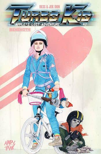 Cover image for TURBO KID APPLES LOST ADVENTURE #2 (OF 2) CVR B TUNER (MR)