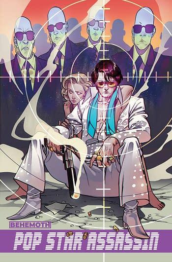 Cover image for POP STAR ASSASSIN #1 (OF 6) CVR C RIVAS (MR)