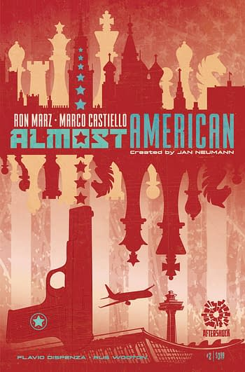 Cover image for ALMOST AMERICAN #2