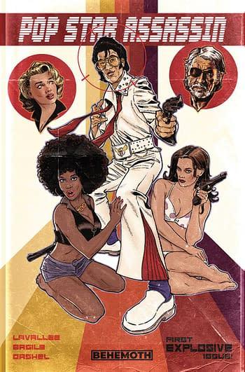 Cover image for POP STAR ASSASSIN #1 (OF 6) CVR F CHATER (MR)