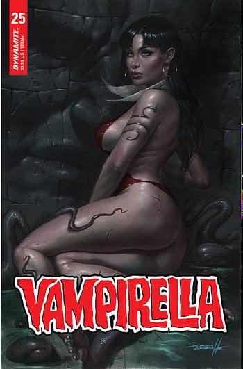 Cover image for VAMPIRELLA #25 CVR A PARRILLO