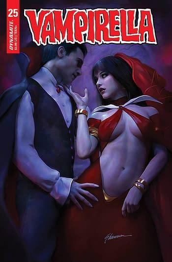 Cover image for VAMPIRELLA #25 CVR B MAER