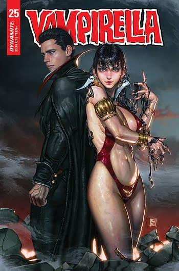 Cover image for VAMPIRELLA #25 CVR D EOM