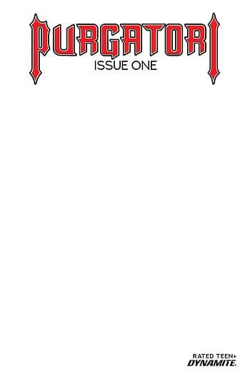 Cover image for PURGATORI #1 CVR E BLANK AUTHENTIX