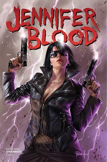 Cover image for JENNIFER BLOOD #1 CVR A PARRILLO (MR)