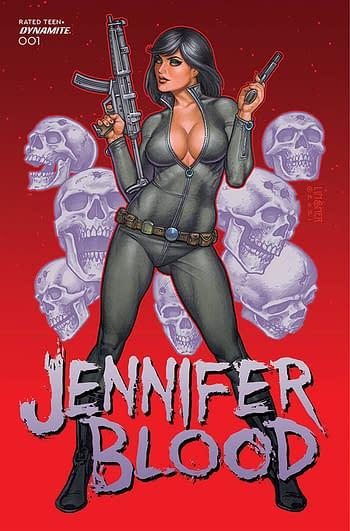 Cover image for JENNIFER BLOOD #1 CVR B LINSNER (MR)