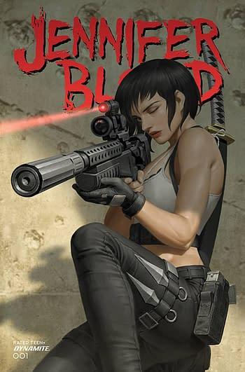 Cover image for JENNIFER BLOOD #1 CVR D YOON (MR)